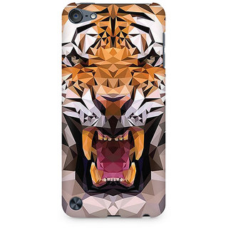 Zenith Roaring Tiger Premium Printed Mobile cover For Apple iPod Touch 6