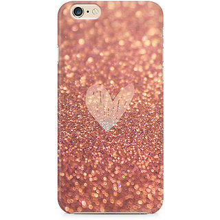 Zenith Rose Gold Sparkle Premium Printed Mobile cover For Apple iPhone 6/6s