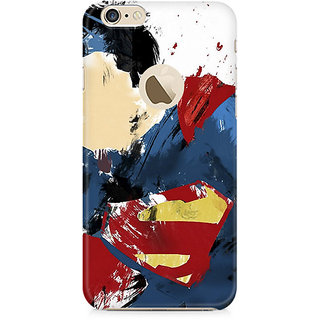 Zenith Superman Abstract Premium Printed Mobile cover For Apple iPhone 6/6s with hole