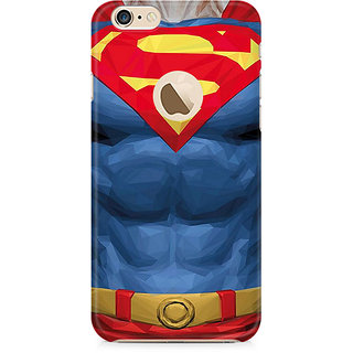 Zenith Superman Body Premium Printed Mobile cover For Apple iPhone 6/6s with hole
