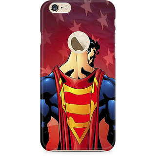Zenith Superman Cape Premium Printed Mobile cover For Apple iPhone 6/6s with hole