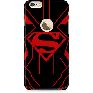 Zenith Superman Red Premium Printed Mobile cover For Apple iPhone 6/6s with hole