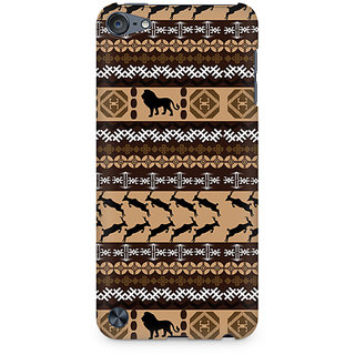Zenith Tribal Lion Premium Printed Mobile cover For Apple iPod Touch 6