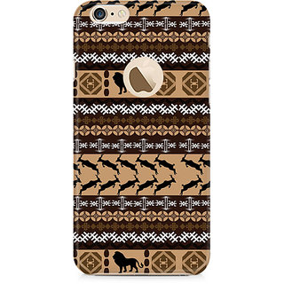 Zenith Tribal Lion Premium Printed Mobile cover For Apple iPhone 6/6s with hole