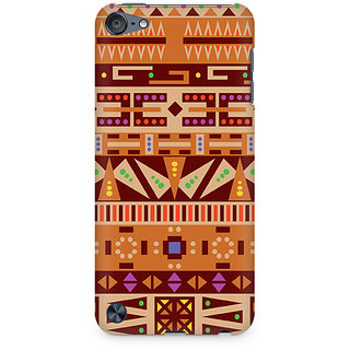 Zenith Tribal Pizza Premium Printed Mobile cover For Apple iPod Touch 6