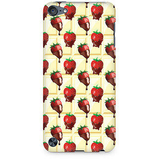 Zenith Strawberry Dip Premium Printed Mobile cover For Apple iPod Touch 5