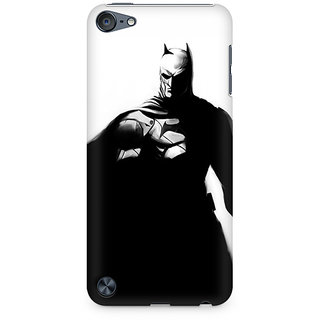 Zenith Cape Crusader Premium Printed Mobile cover For Apple iPod Touch 6