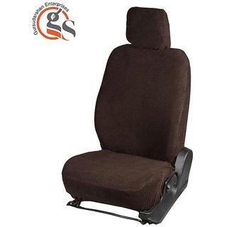 GS Sweat Control Coffee Towel Car Seat Cover For Tata Indigo Manza