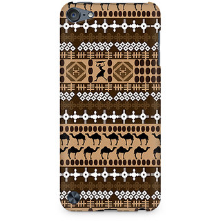 Zenith Brown Camel Premium Printed Mobile cover For Apple iPod Touch 5