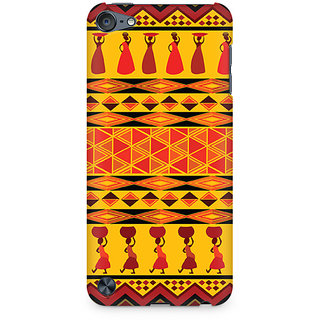 Zenith Colorful Lady Premium Printed Mobile cover For Apple iPod Touch 5