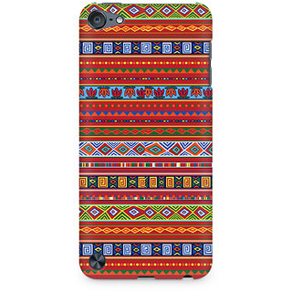 Zenith Ethnic Pattern Abstract Premium Printed Mobile cover For Apple iPod Touch 5