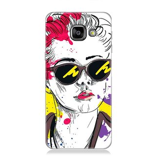 7Continentz Designer back cover for Samsung Galaxy A3(2016)