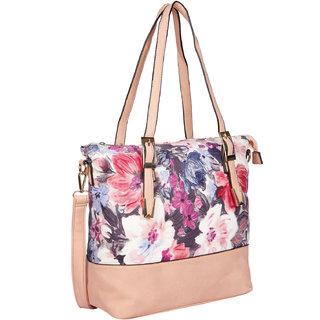 Bagkok Pink Printed Party Handbag