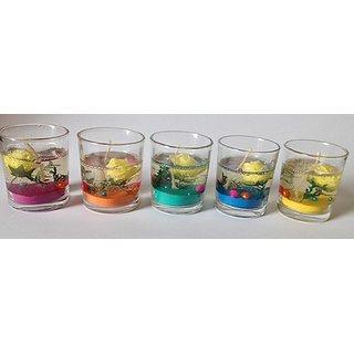 Maatirang Designer Gel Candle - Set of 5