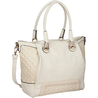 Bagkok Beige Printed Casual Totes
