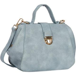 Bagkok Blue Self Design Casual Sling Bag
