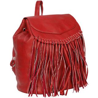Bagkok Red Back Padding Backpack