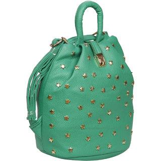 Bagkok Green Back Padding Backpack