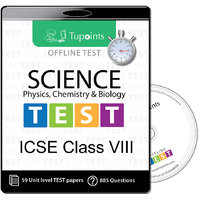 ICSE Class 8 Science(Physics,Chemistry,Biology)  Offlin