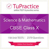 CBSE 10 Science And Mathematics Online TEST Voucher