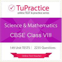 CBSE 08 Science And Mathematics Online TEST Voucher