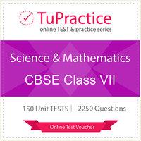 CBSE 07 Science And Mathematics Online TEST Voucher