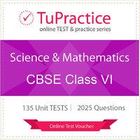 CBSE 06 Science And Mathematics Online TEST Voucher