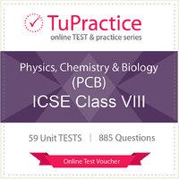ICSE 08 Physics Chemistry Biology (PCB) Online TEST Vou