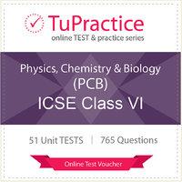 ICSE 06 Physics Chemistry Biology (PCB) Online TEST Vou