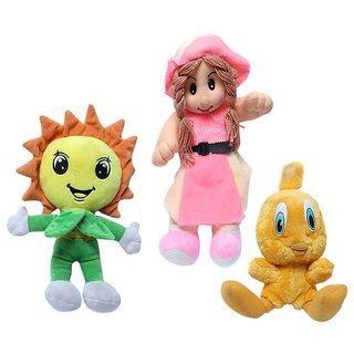 Galaxy World Tweety + Sunflower + Girl Combo Toys