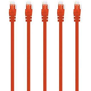 GearIT Cable, 10(5-Pack), Orange (10CAT-ORANGE-5PACK)