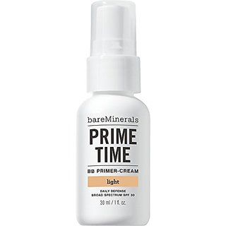 bareMinerals Prime Time BB Primer-Cream Daily Defense SPF 30, Light, 1 Ounce
