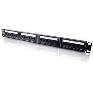 C2G / Cables To Go 03852 24-Port CAT5E 110 Type Patch Panel