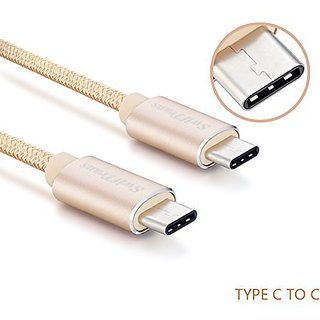 Type C Cable, USB C to USB C Swiftrans 5.9ft (1.8M) Braided Cable for USB Type-C Devices Including the new MacBook, Chro