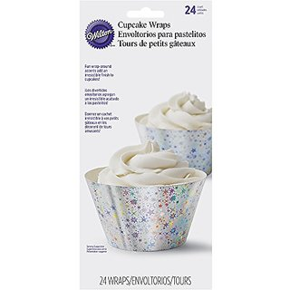 Wilton 415-5177 24 Count Cosmic Cupcake Liners