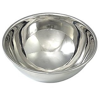 Fat Daddios 5 Inch x 2.5 Inch Deep Stainless Steel Hemisphere Pan
