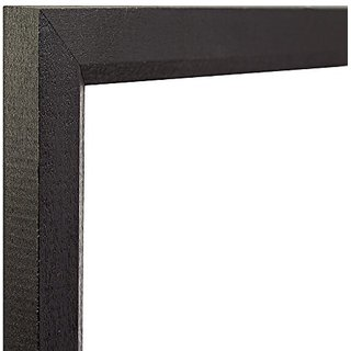 Craig Frames 7171610BK1521 0.825-Inch Wide Picture/Poster Frame in Wood Grain Finish, 15 by 21-Inch, Solid Black