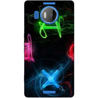 Stubborne Microsoft lumia 950 XL Cover / Microsoft lumia 950 XL Covers Back Cover Designer Printed Hard Plastic Case