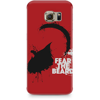 CopyCatz Fear The Beard Premium Printed Case For Samsung S6 Edge Plus