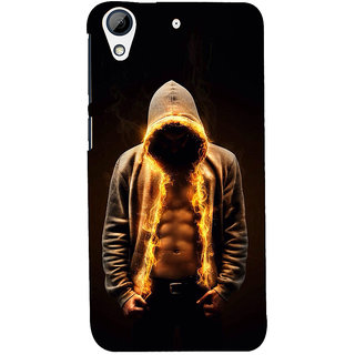 Snapdilla Attractive Six Pack Athletic Gym Workout Body Man On Fire Designer Case For HTC Desire 626