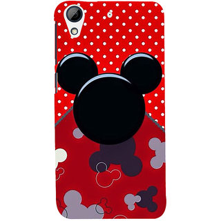 Snapdilla Beautiful Trendy Cartoon Mickey Funny Phone Case For HTC Desire 626