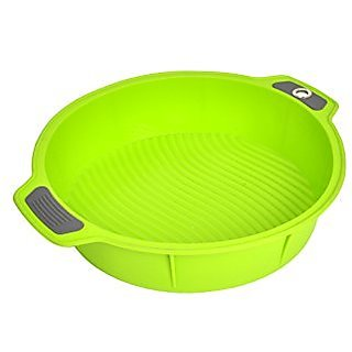 Bakeware Silicone Round Pan, Gela Cake Molds For Baking, The Ideal Choice For Cakes And More - Roudn Pan Green