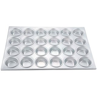 Winco AMF-24 24-Cup Non-stick Muffin and Cupcake Pan, Aluminum