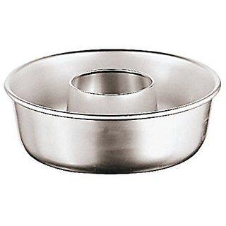 Paderno World Cuisine 47060-14 Aluminum Savarin Mold, Gray