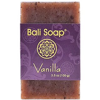 Bali Soap - Natural Bar Soap, Vanilla, 3.5 Oz each (Pack of 3)