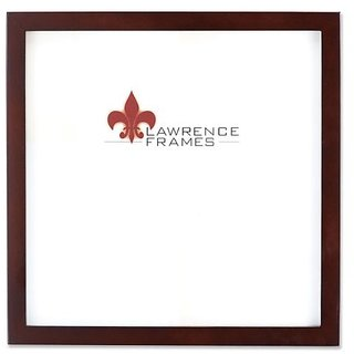 Lawrence Frames 755912 Espresso Wood Picture Frame, 12 by 12-Inch