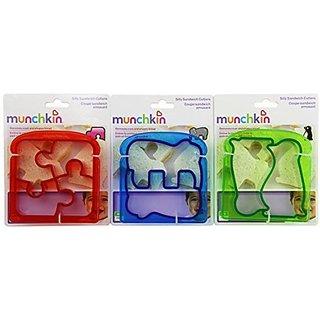 Munchkin Silly Sandwich Cutter Set, 3 count