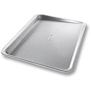 USA Pan Bakeware Aluminized Steel Cookie Scoop Pan, Large
