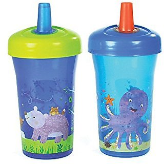 The First Years Simple Straw Cup - 9oz, 2 pack, Blue