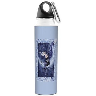 Tree-Free Greetings VB47551 Amy Brown Fantasy Traveler Stainless Water Bottle, 18-Ounce, Moon Sprite Artful